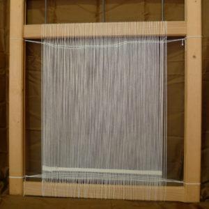 Métier à tisser cadre en bois, tension réglable