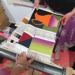stage de tapisserie à Aubusson