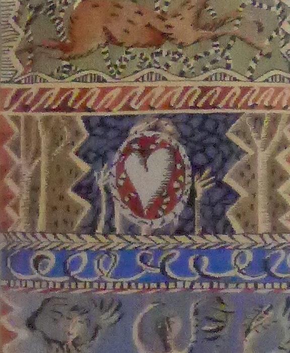 Tapisserie Bordure des bois de Diane de Bournazel