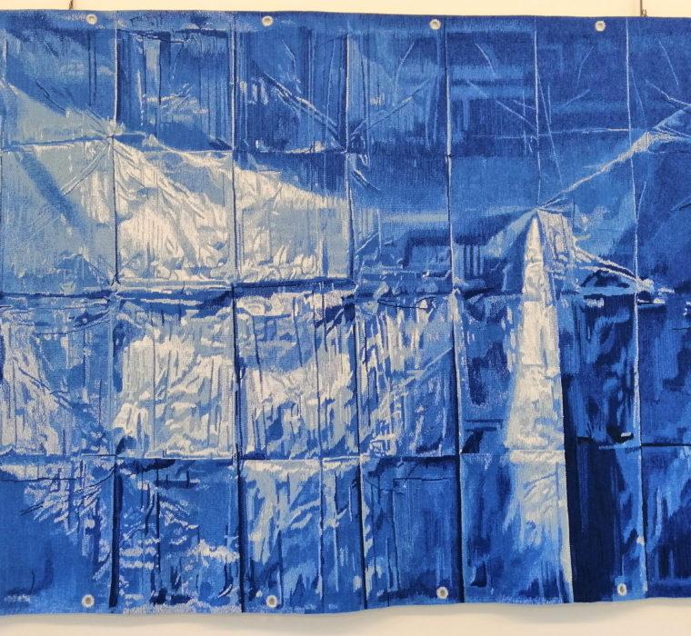 tapisserie Bleue Marie Sirgue