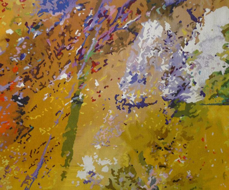 Voltige, tapisserie de France-Odile Perrin-Crinière
